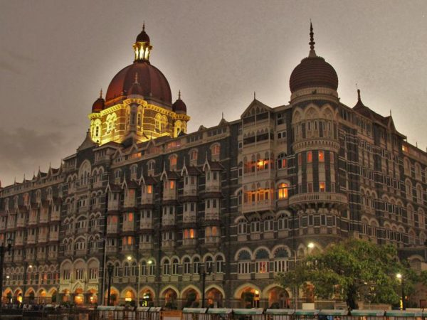 The Taj Mahal Palace Exterior View