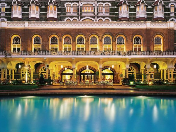 The Taj Mahal Palace Pooside