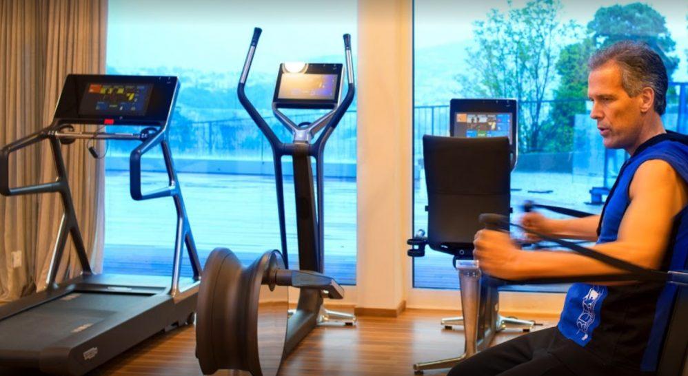 The View Lugano Gym