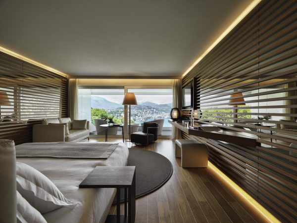 The View Lugano Junior Suite with Balcony and Lake View