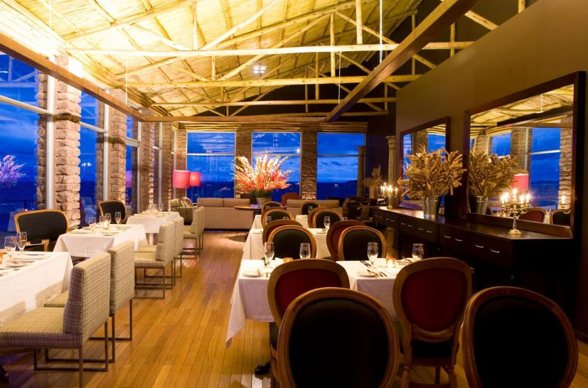 Titilaka Boutique Hotel Lake Titicaca Dining Room