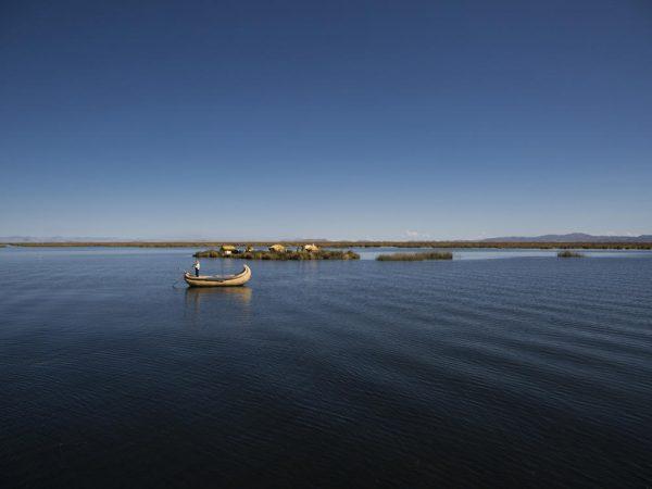 Titilaka Titicaca Lake Island of the lake