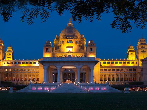 Umaid Bhawan Palace Exterior View