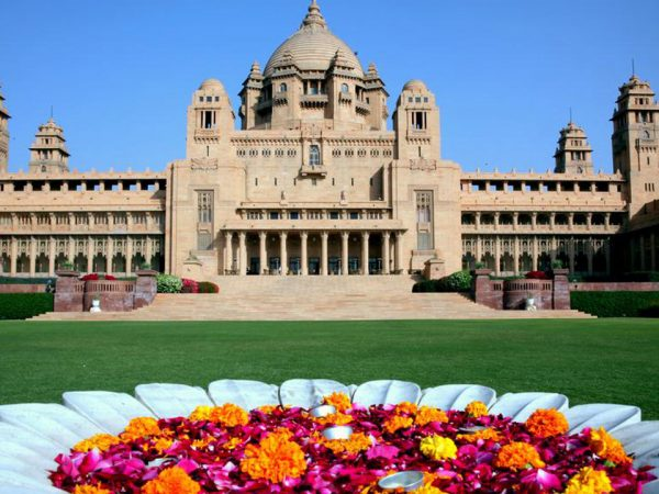 Umaid Bhawan Palace Lobby View
