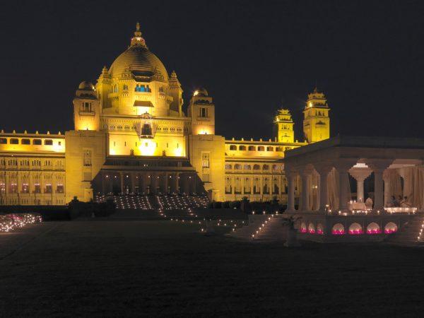 Umaid Bhawan Palace Night View