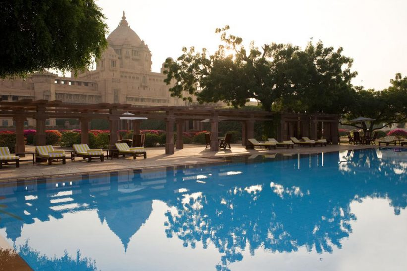 Umaid Bhawan Palace Pool