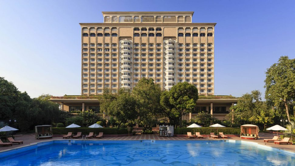 The Taj Mahal Hotel New Delhi Pool