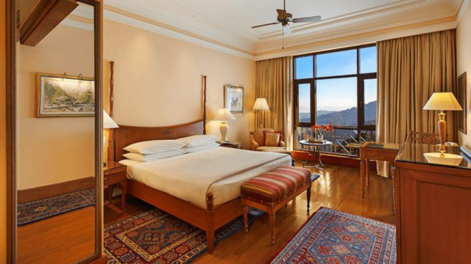 Wildflower Hall, An Oberoi Resort, Shimla Our Premier Mountain View Rooms