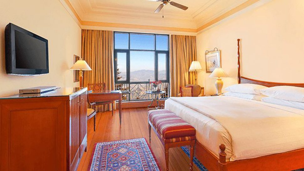 Wildflower Hall, An Oberoi Resort, Shimla Our Premier Valley View Rooms