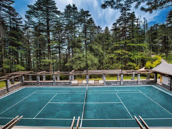 Wildflower Hall, An Oberoi Resort, Shimla tennis
