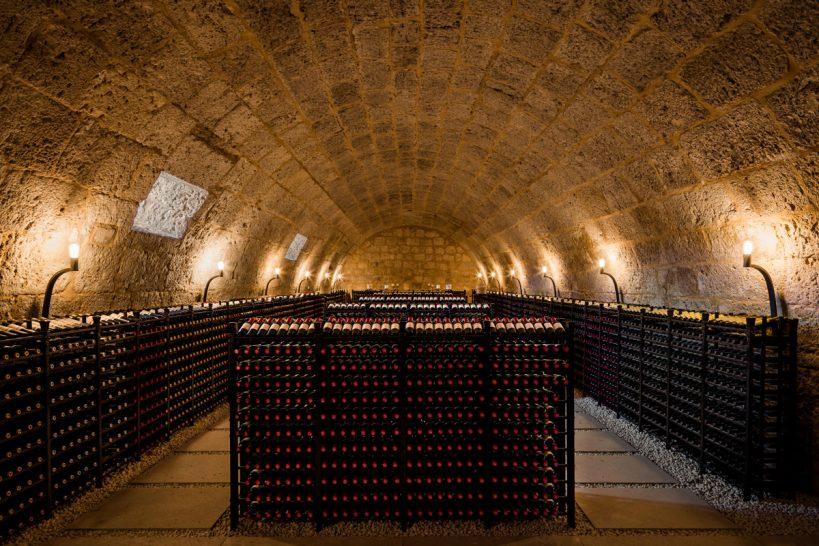 Wine Cellar at Abadia Retuerta LeDomaine