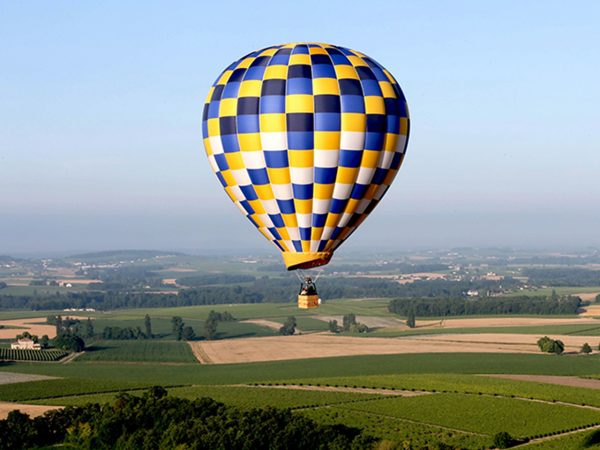 chais monnet Cogmac Air Balloon