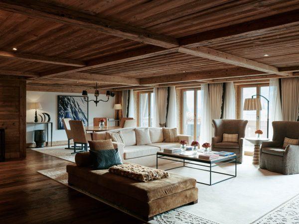 Alpina Gstaad Panorama Suite