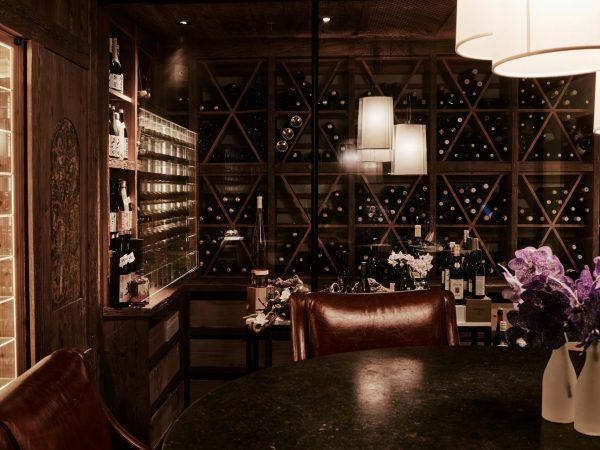 Alpina Gstaad Wine Cellar