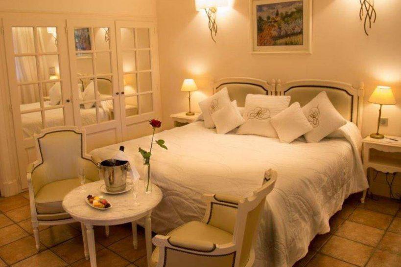 Auberge de Cassagne and Spa Park Room