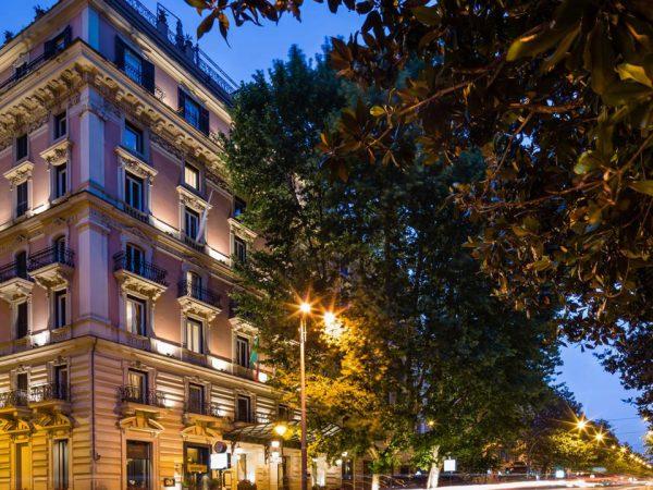 Baglioni Hotel Regina Rome Hotel View