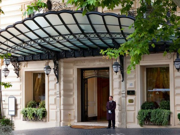 Baglioni Hotel Regina Rome Lobby