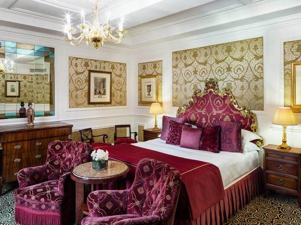Baglioni Hotel Regina Rome Margherita Suite