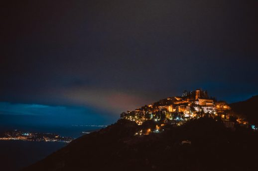 Chateau Eza Night View