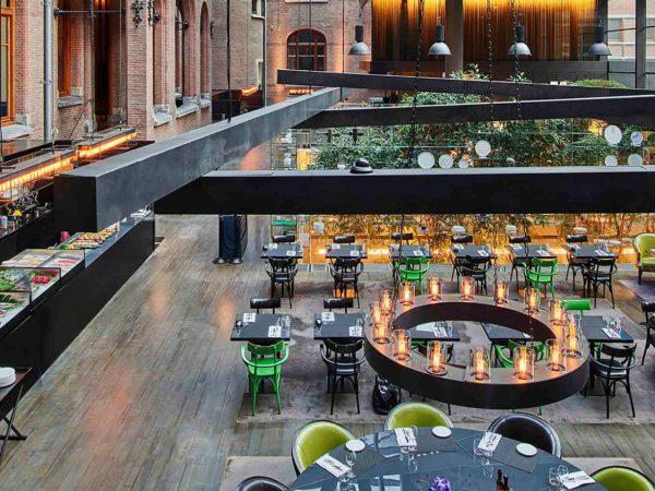 Conservatorium Hotel Brasserie Lounge