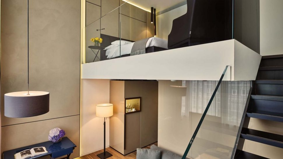 Conservatorium Hotel Deluxe Duplex Guestroom