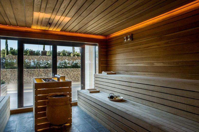 Coquillade Village Provence Spa Sauna