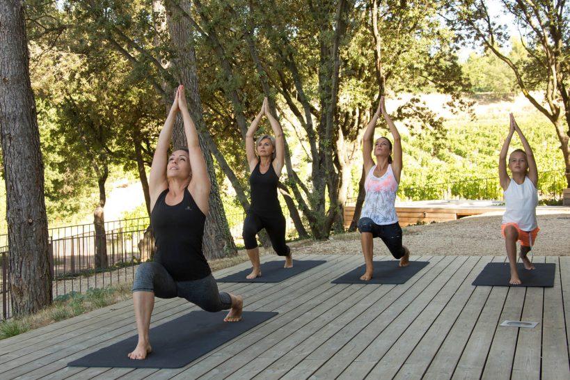 Coquillade Village Yoga