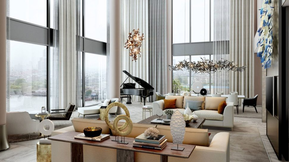 Four Seasons Hotel Bangkok Chao Phraya River Presidential Suite