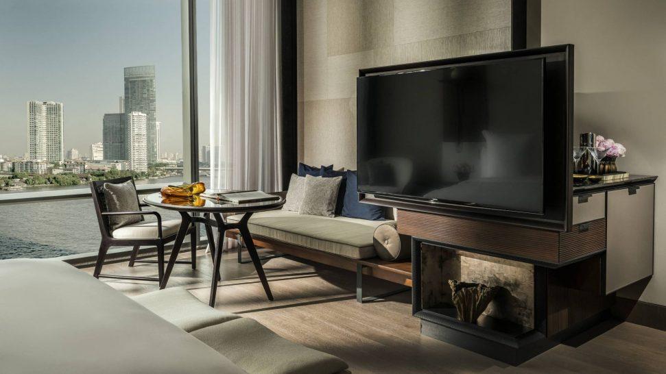 Four Seasons Hotel Bangkok Chao Phraya River Riverside Terrace Suite