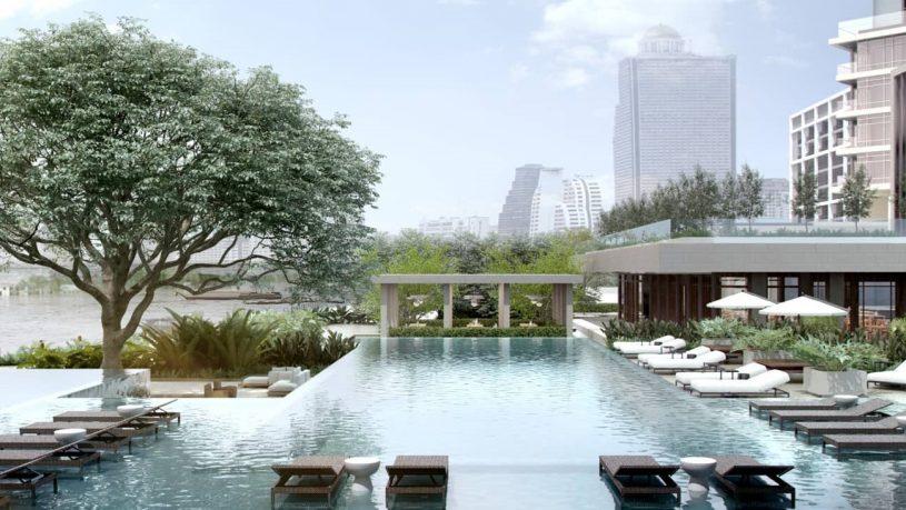 Four Seasons Hotel Bangkok at Chao Phraya River Pool
