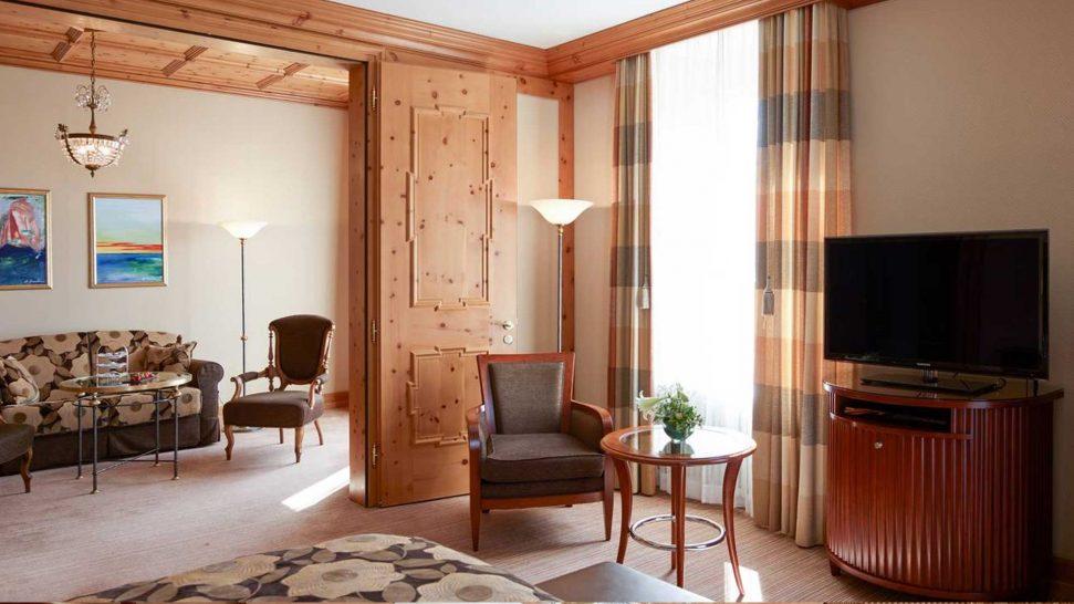 Grand Hotel Kronenhof Bellaval Suite