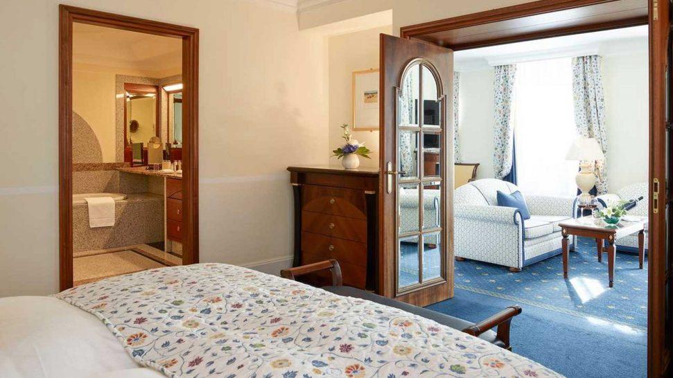 Grand Hotel Kronenhof Diavolezza Suite