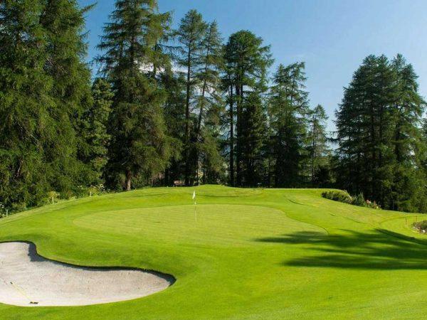 Grand Hotel Kronenhof Golf Ground