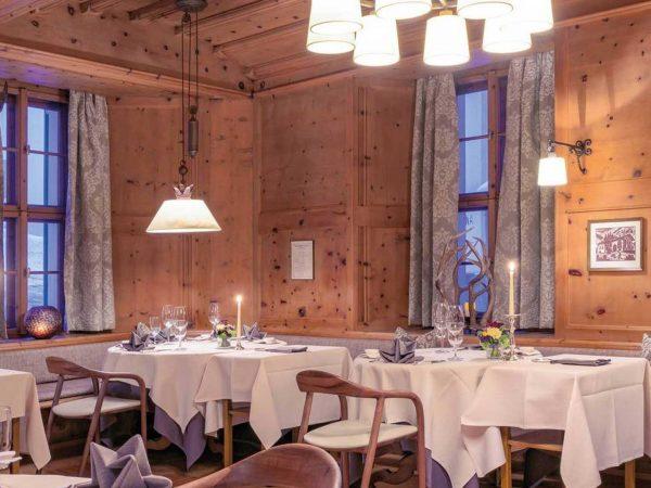 Grand Hotel Kronenhof Gourmet Restaurant Kronenstbli