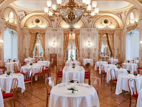Grand Hotel Kronenhof Grand Restaurant
