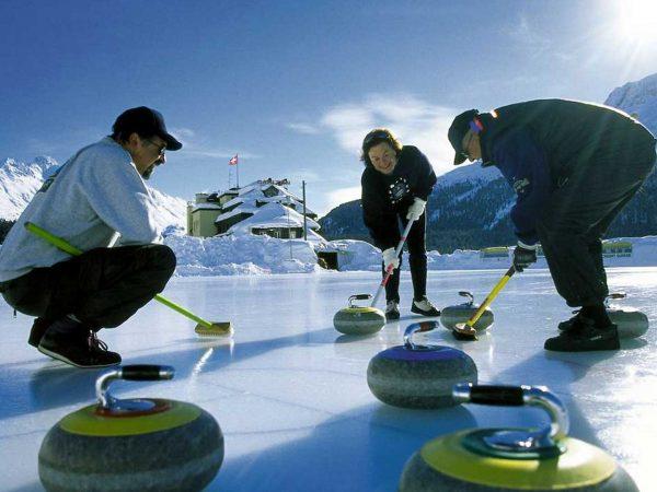 Grand Hotel Kronenhof Ice Sports