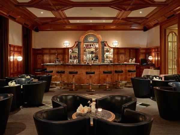Grand Hotel Kronenhof Kronenhof Bar