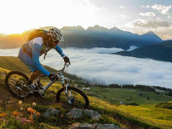 Grand Hotel Kronenhof Mountain Biking