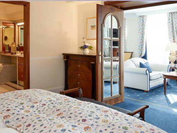 Grand Hotel Kronenhof Roseg Suite
