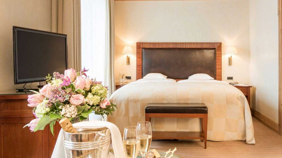 Grand Hotel Kronenhof Standard Premium Double Room