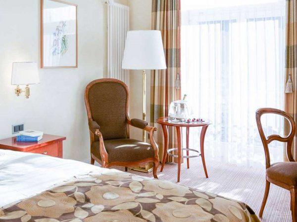 Grand Hotel Kronenhof Superior Single Room
