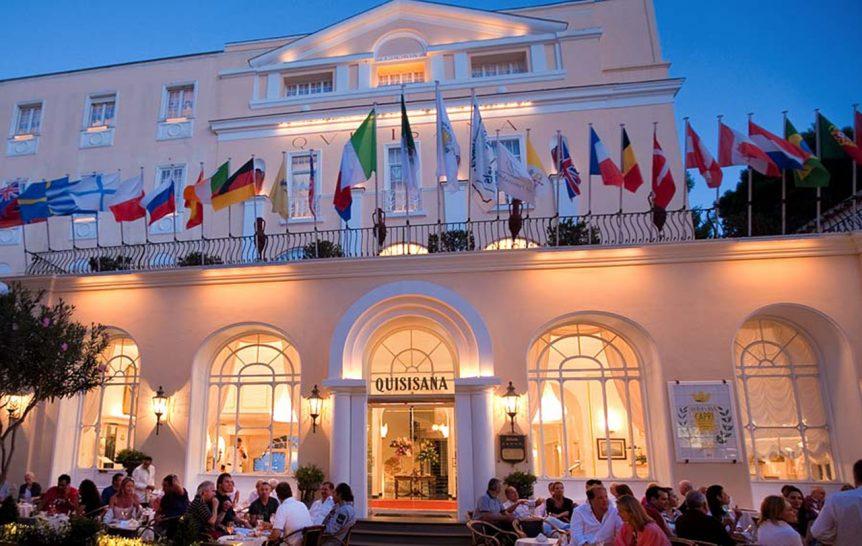 Grand Hotel Quisisana bar