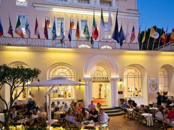 Grand Hotel Quisisana Hotel View