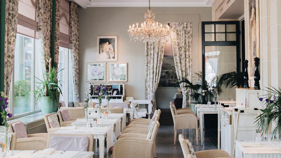 Grand Hotel du Lac Vevey Brasserie the veranda