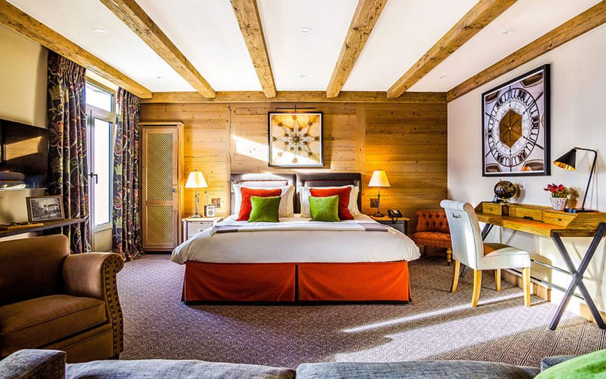 Gstaad Palace Alpine Suite Mountain View