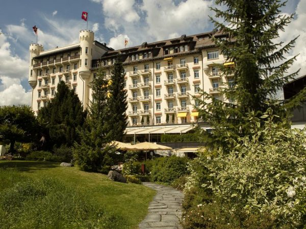 Gstaad Palace Exterior