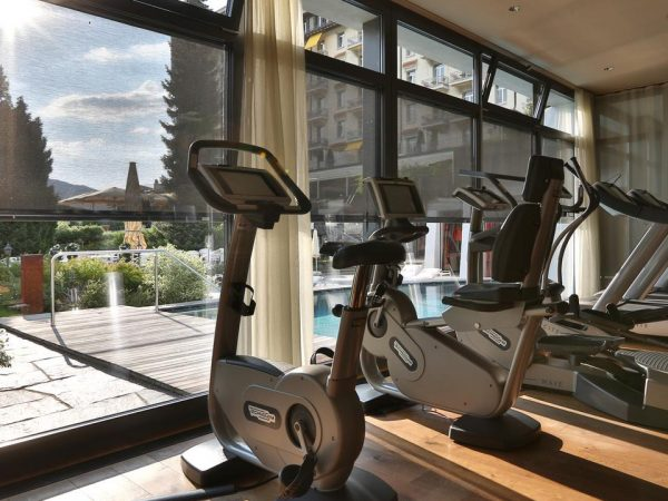 Gstaad Palace Gym