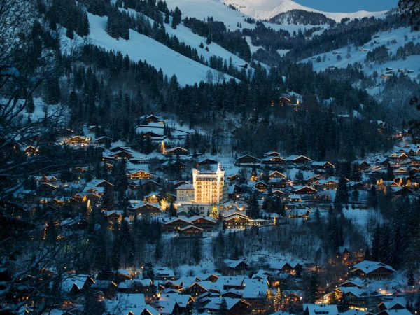 Gstaad Palace Hotel View