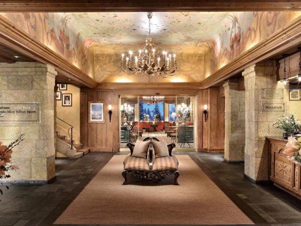 Gstaad Palace Interior