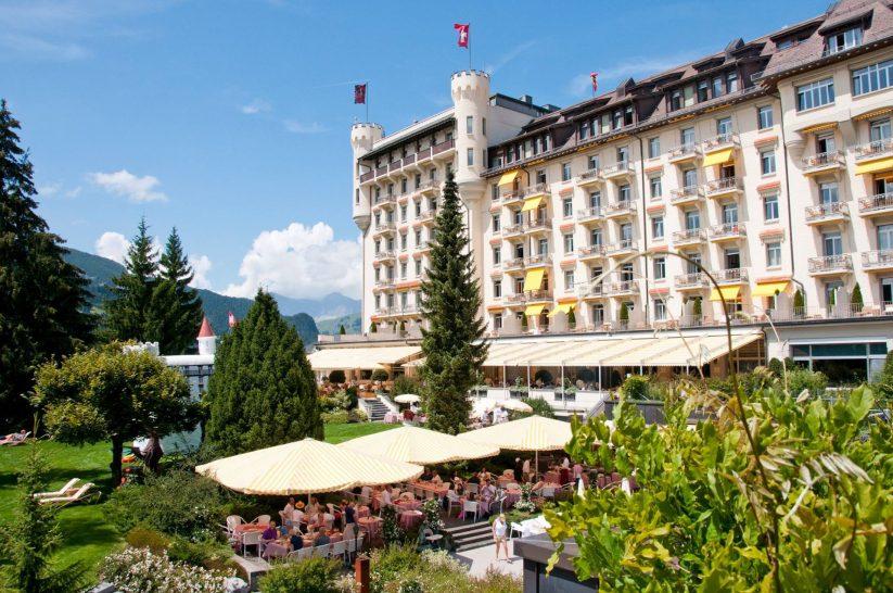 Gstaad Palace La Grande Terrasse